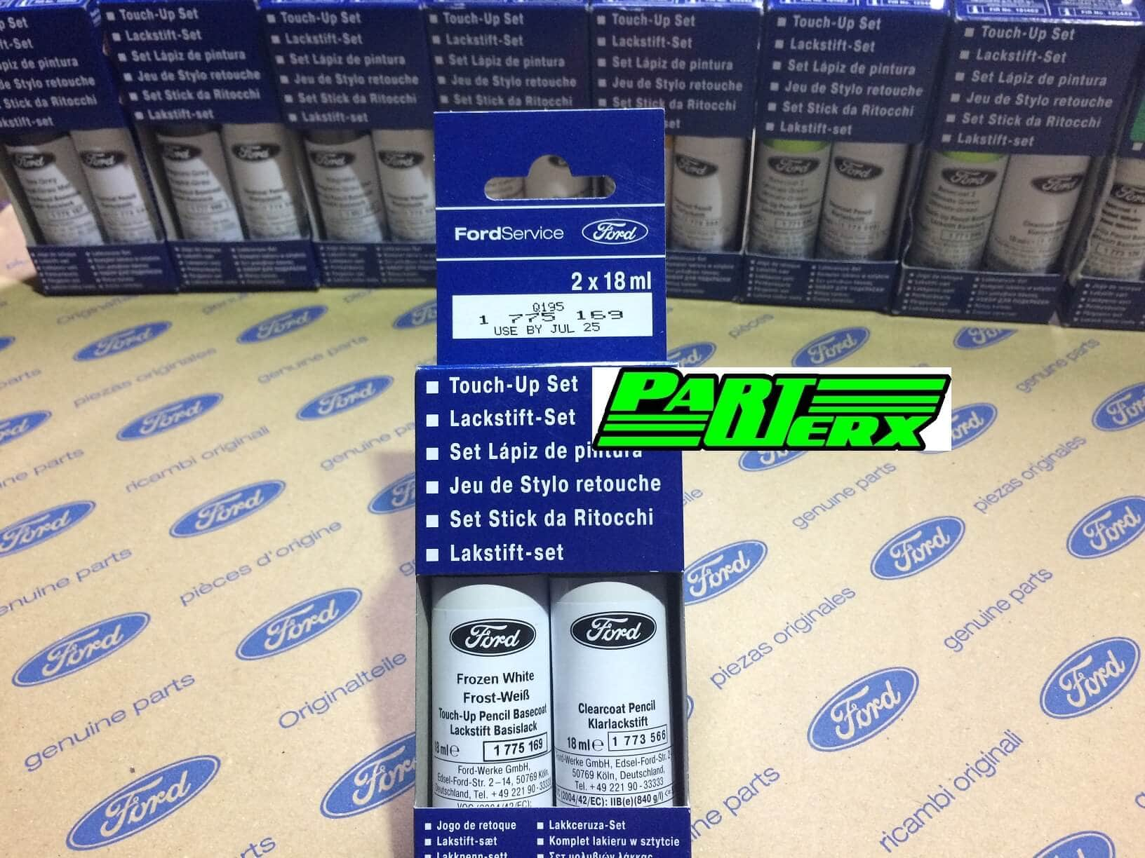 Genuine Ford Frozen White Touch Up Paint Stick Scratch Chip Repair