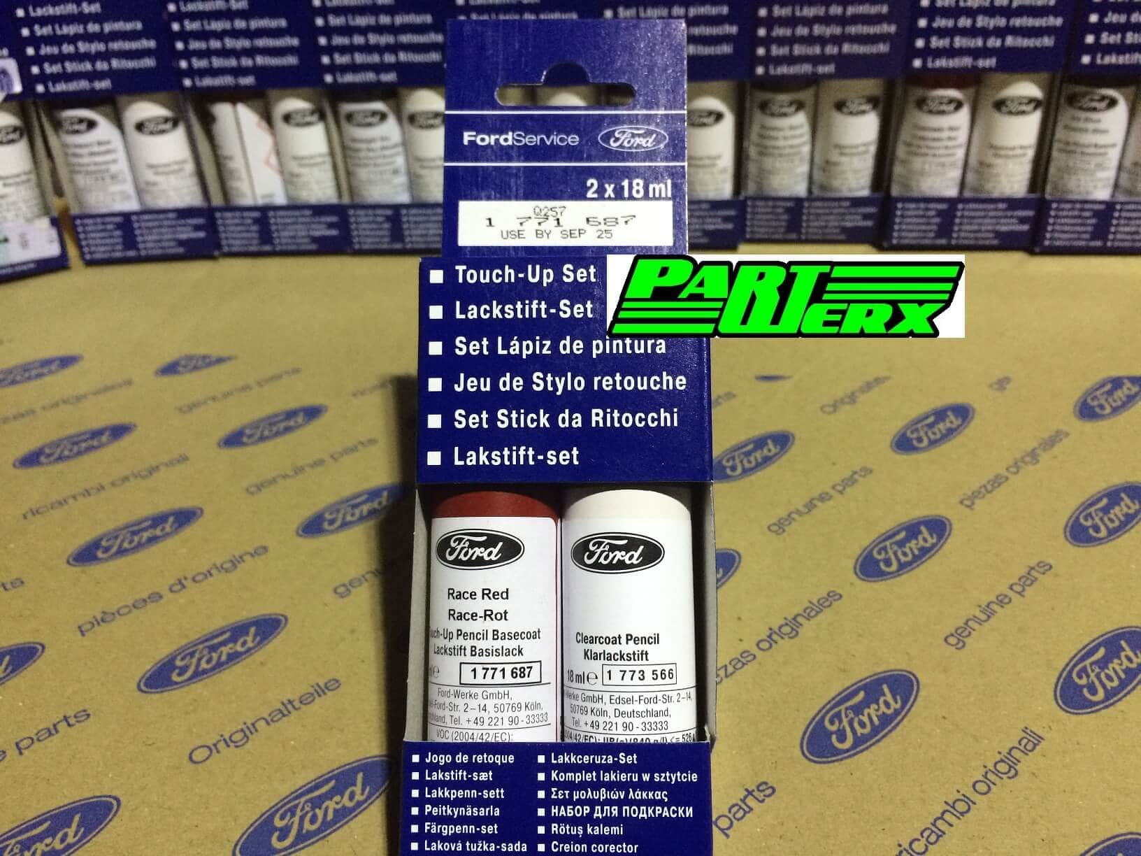 Genuine Ford Race Red Touch Up Paint Stick Scratch Chip Repair Race Rot