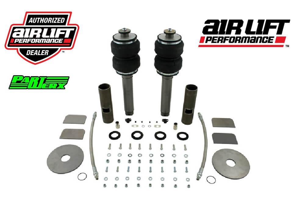 Air Lift Performance Universal Bellow Over Strut Shock Air Lift Custom Fabricate Suspension