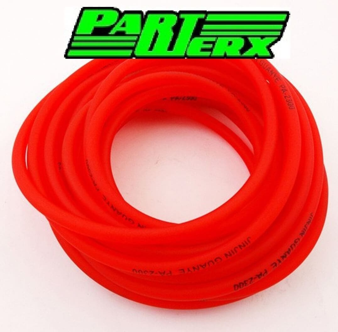 5mm Red Fuel Hose x1m