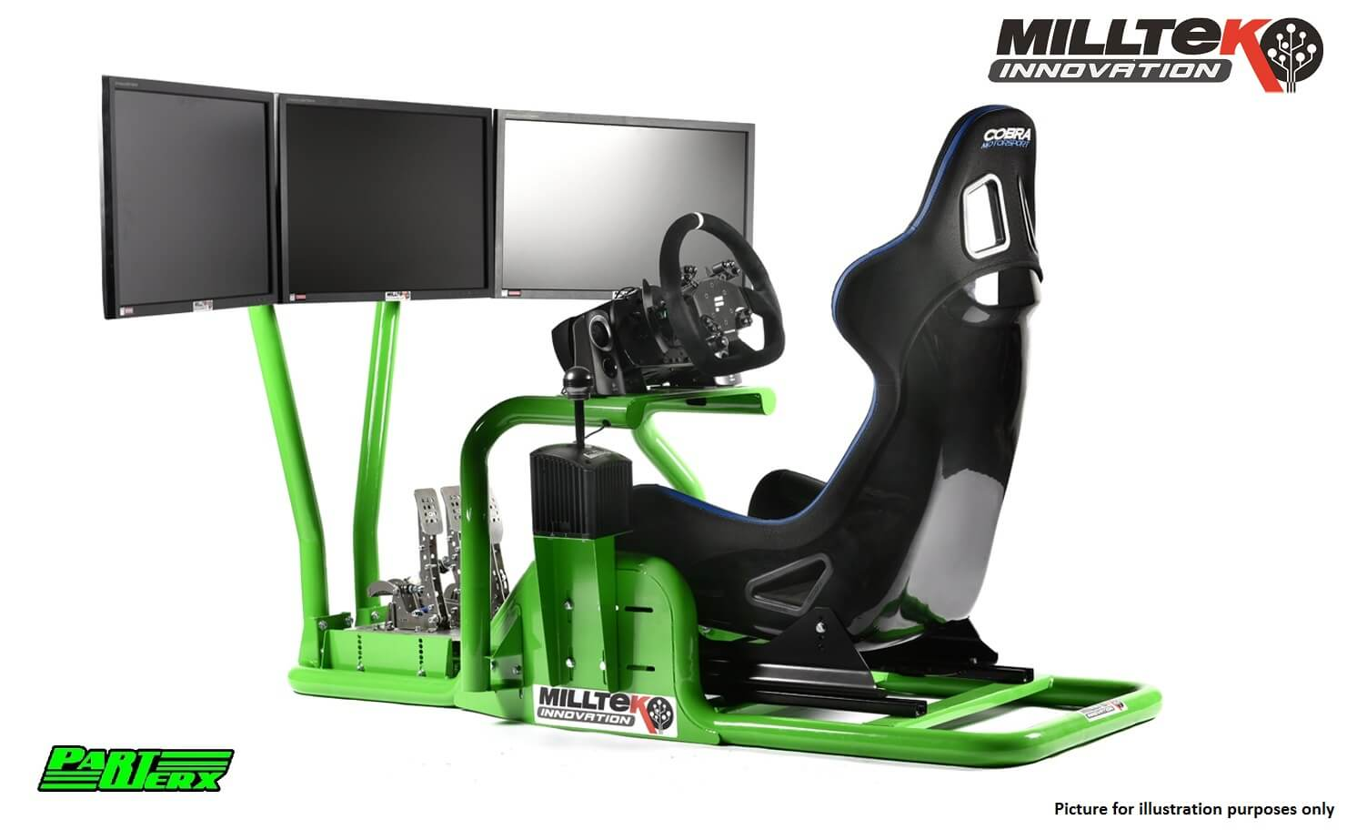 Milltek Racing Simulator.