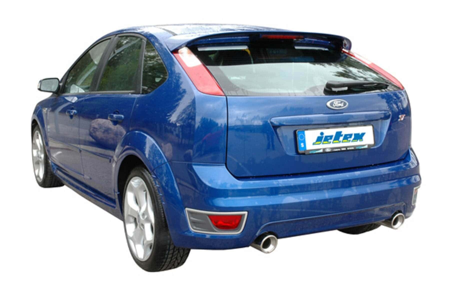Ford Focus St Jetex Performance Exhaust System 2 5 Stainless Steel Cat Back With Round 100mm Tail Pipes Part Werx