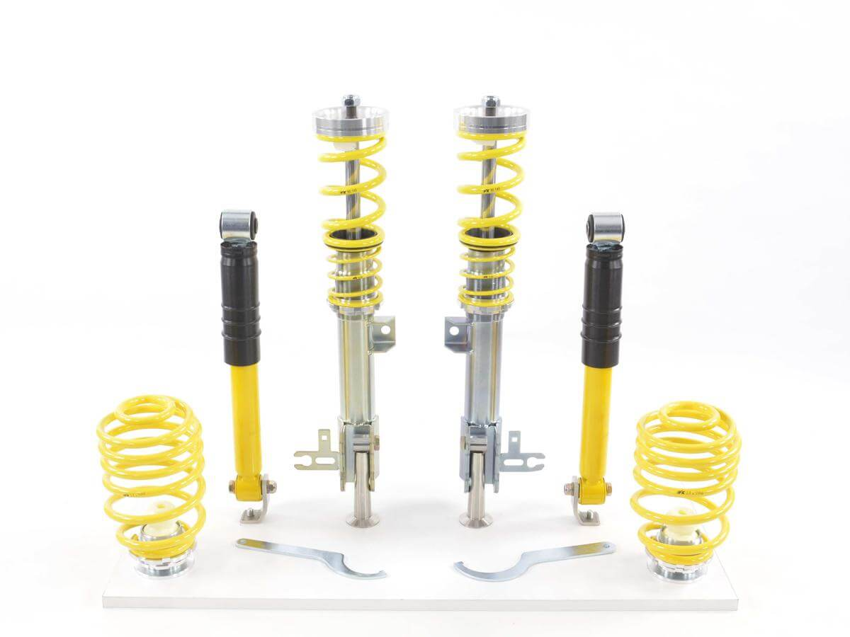 Vauxhall Opel Astra H (A-H) FK AK Street Coilovers Height Adjustable Suspension Kit 04-10