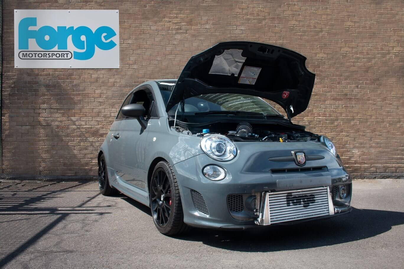 Fiat 500595695 Forge Motorsport Performance Front Mounted Intercooler Kit FMINTF500 GHOSTED