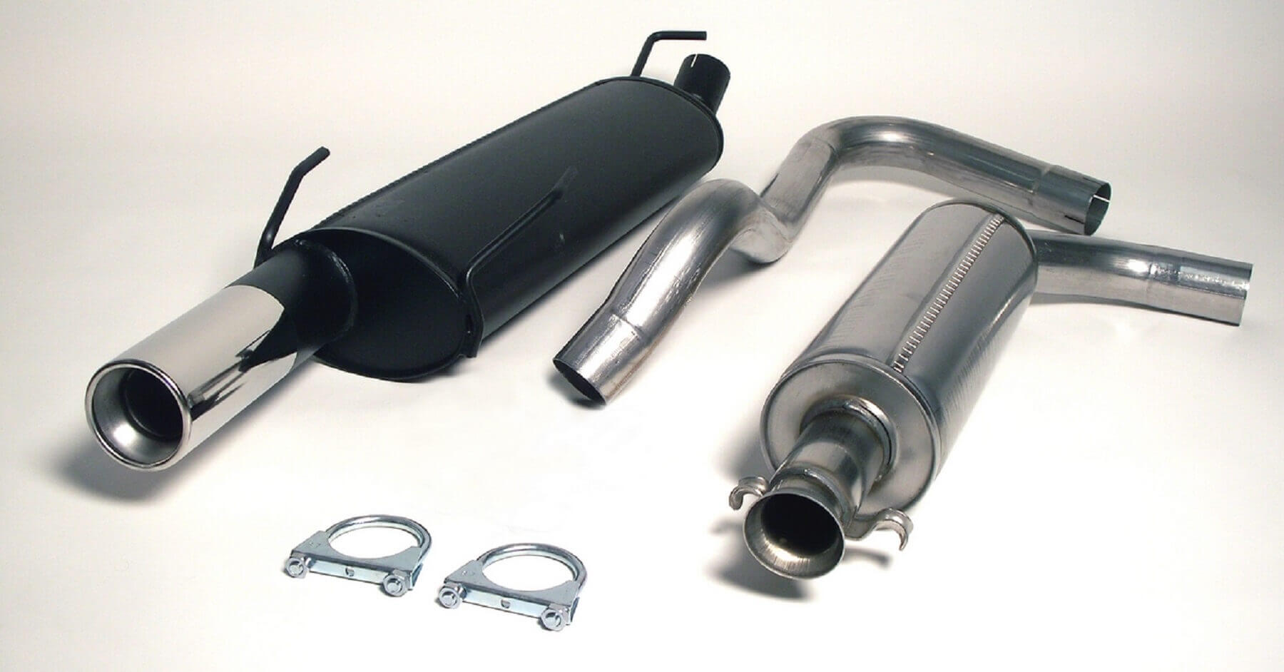 Saab 900 Coupe Cabrio Jetex Performance Stainless Steel Cat Back Exhaust System with Round 90mm Tail Pipe