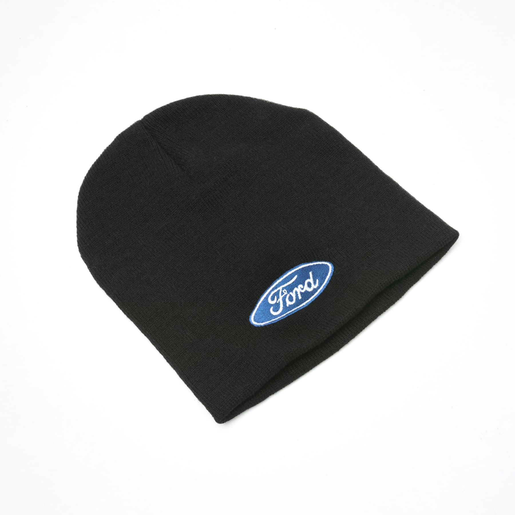 Official Licensed Ford Merchandise Beanie Hat - Black with Ford logo