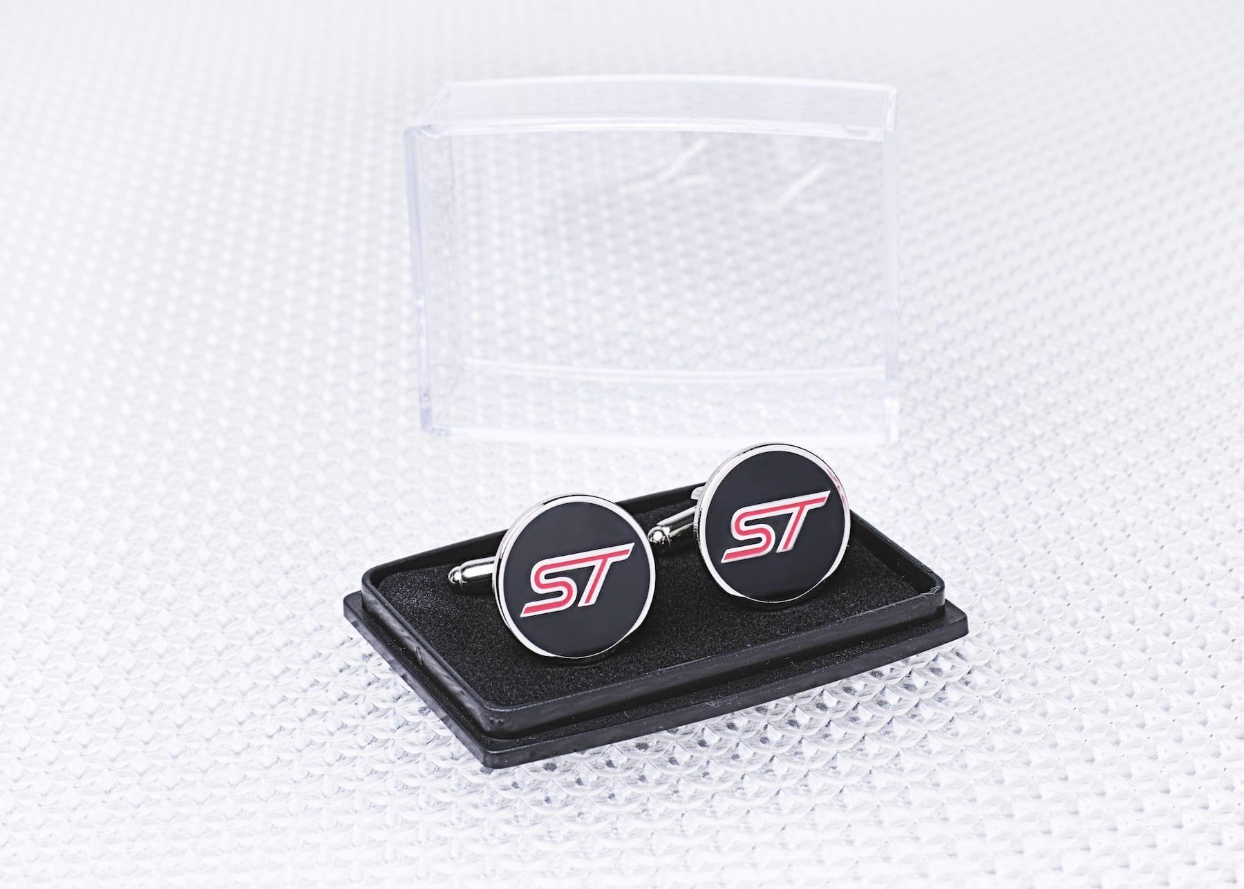 Official Licensed Ford Merchandise ST logo Cufflinks Shirt Accessories
