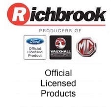 Official Licensed Products For Ford Vauxhall MG by Richbrook