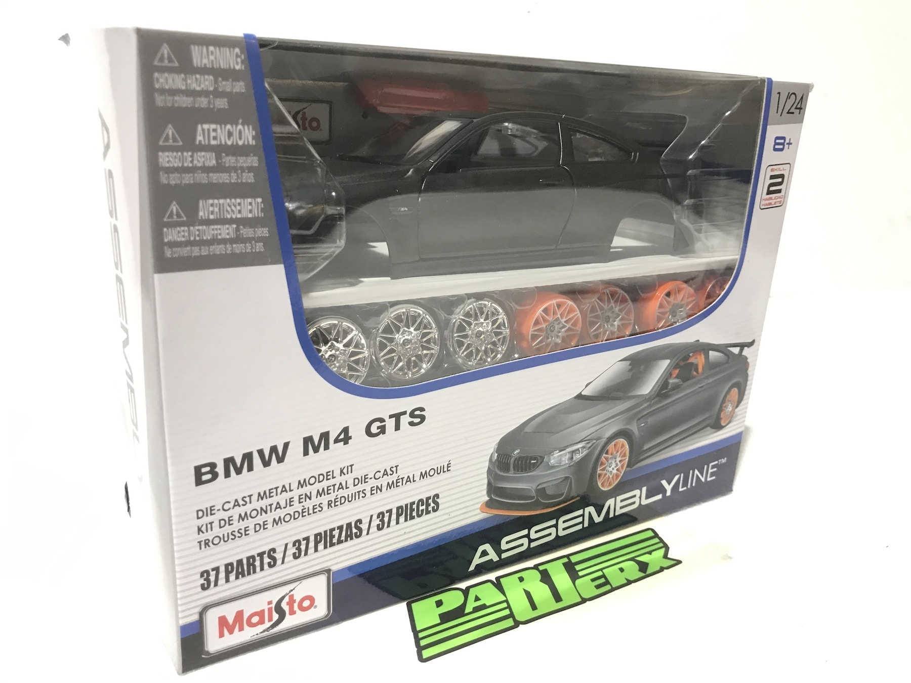 BMW M4 GTS Kit Special Edition Assembly Line 1:24 Scale Model Car Enthusiasts Owners Birthday Present Gift