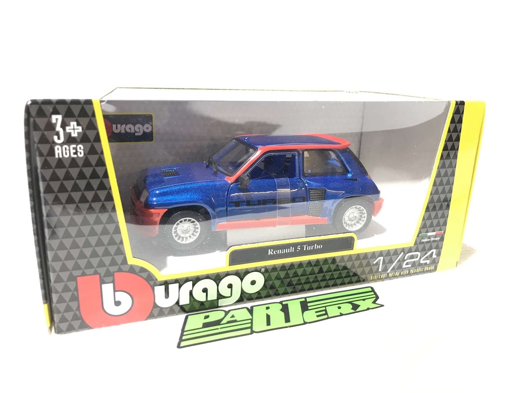 Renault 5 Turbo 1:24 Scale Model Toy Christmas Gift Xmas Birthday Present