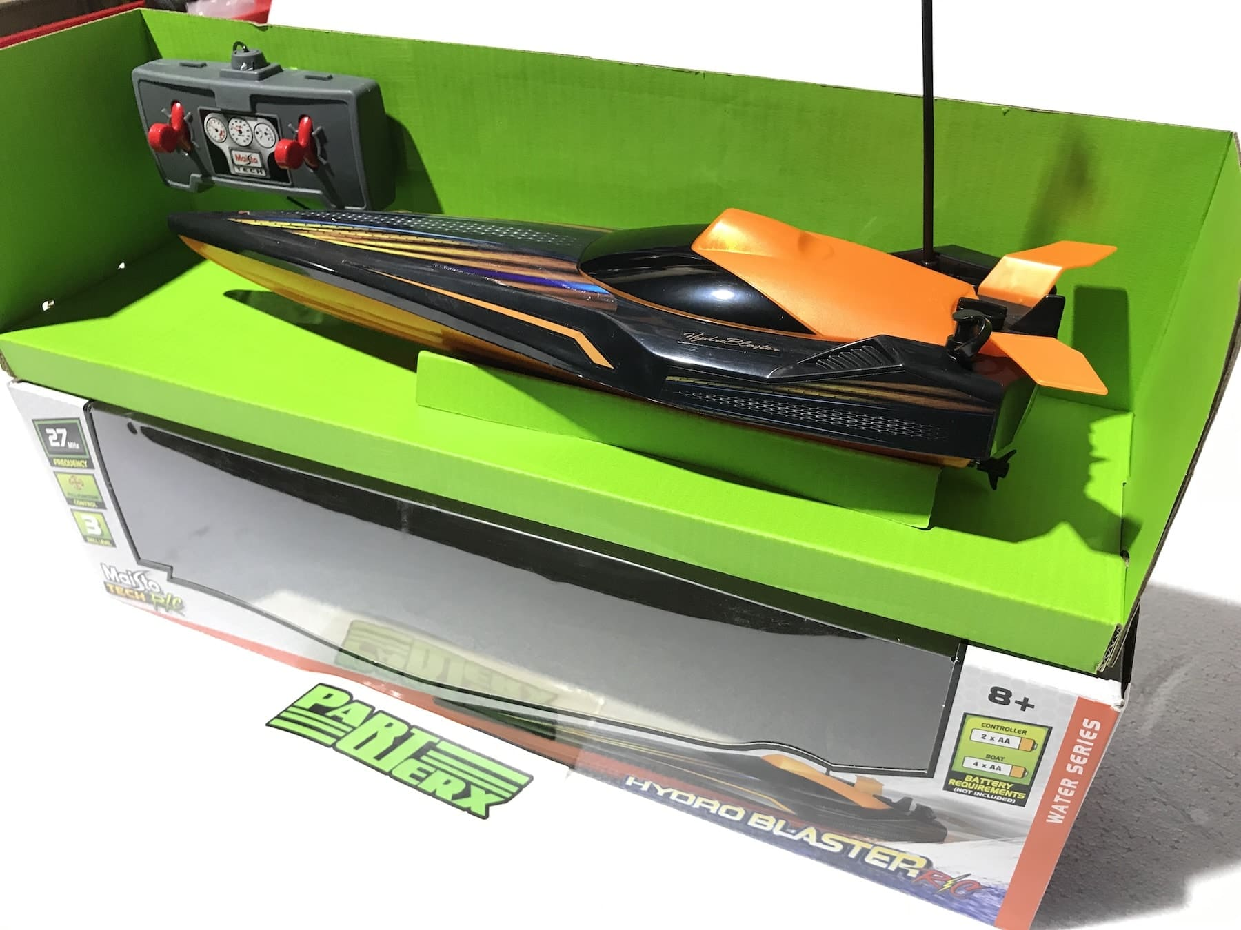 Speed Boat Hydro Blaster 1:24 RC Radio Controlled Model Boat Toy Christmas Gift Xmas Birthday Present