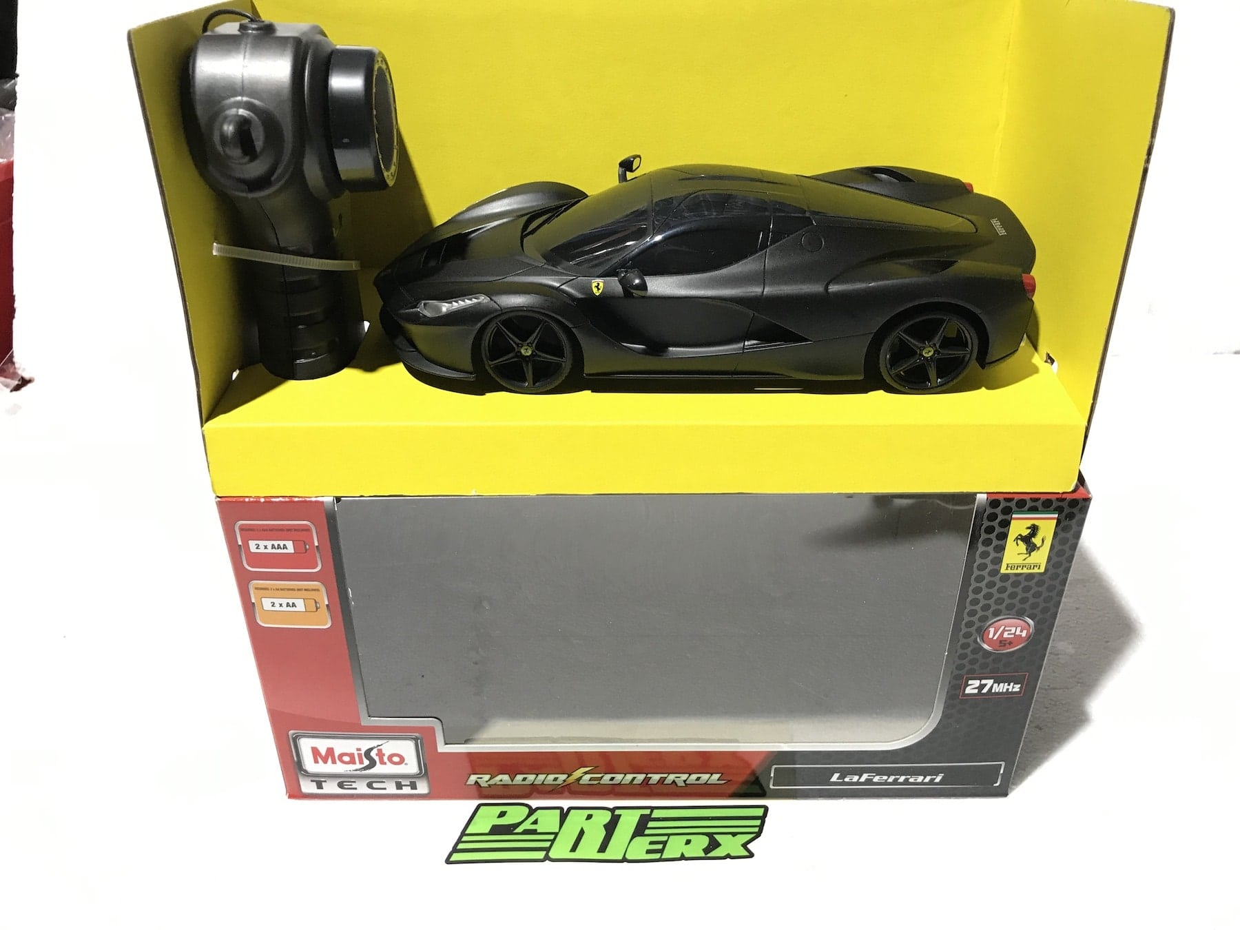 FERRARI RC LA FERRARI 1:24 RC Radio Controlled Scale Model Car Big Boys Toy Christmas Gift Xmas Birthday Present
