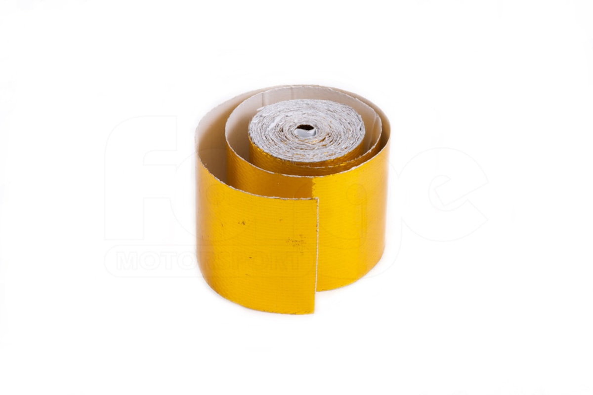 Universal Forge Motorsport Performance Gold Heat Resistant Wrap Tape Engine FMGW50