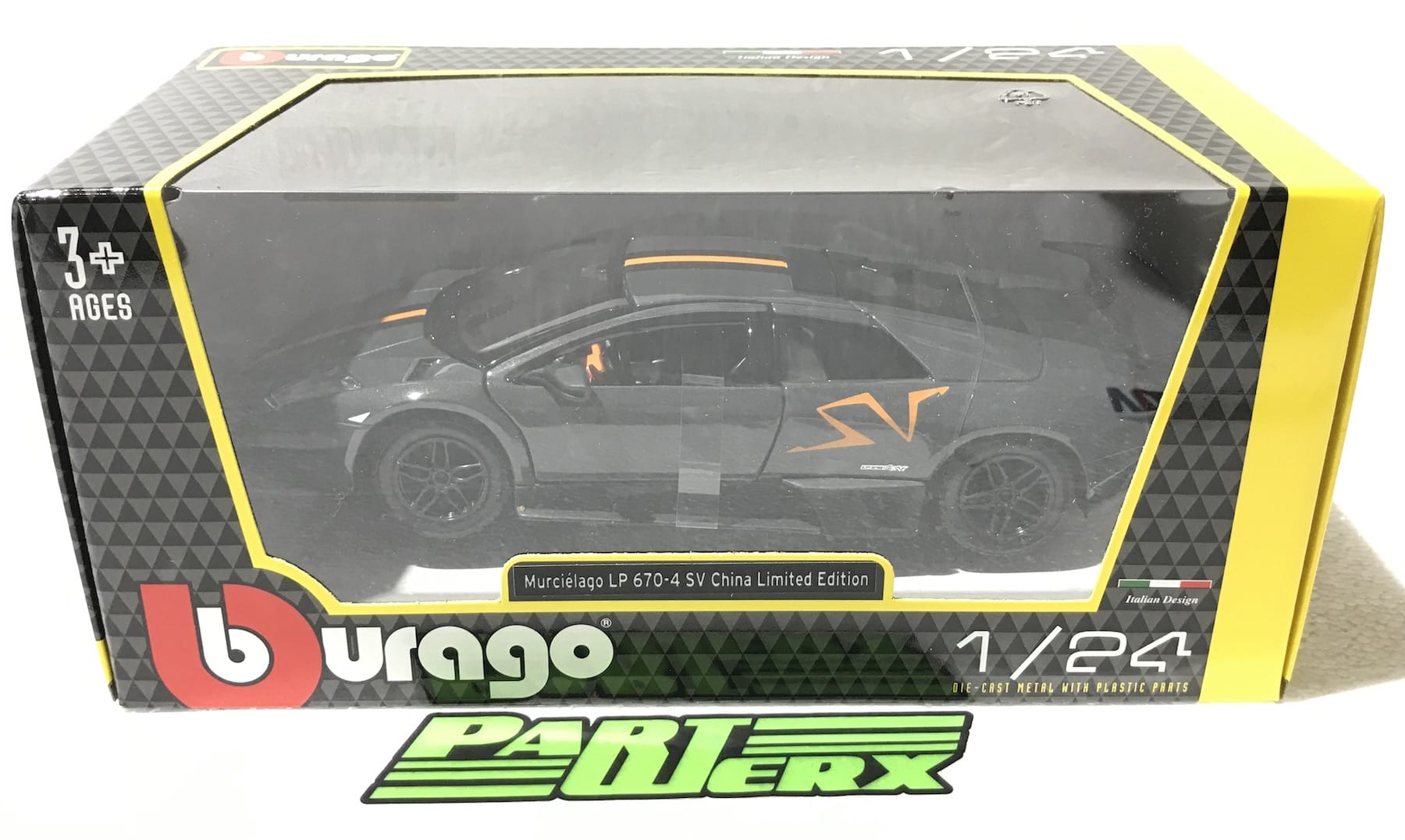 Lamborghini Murcielago LP-670-4 SV China Limited Edition 1:24 Scale Model Toy Childs Kids Enthusiasts Collectors Gift