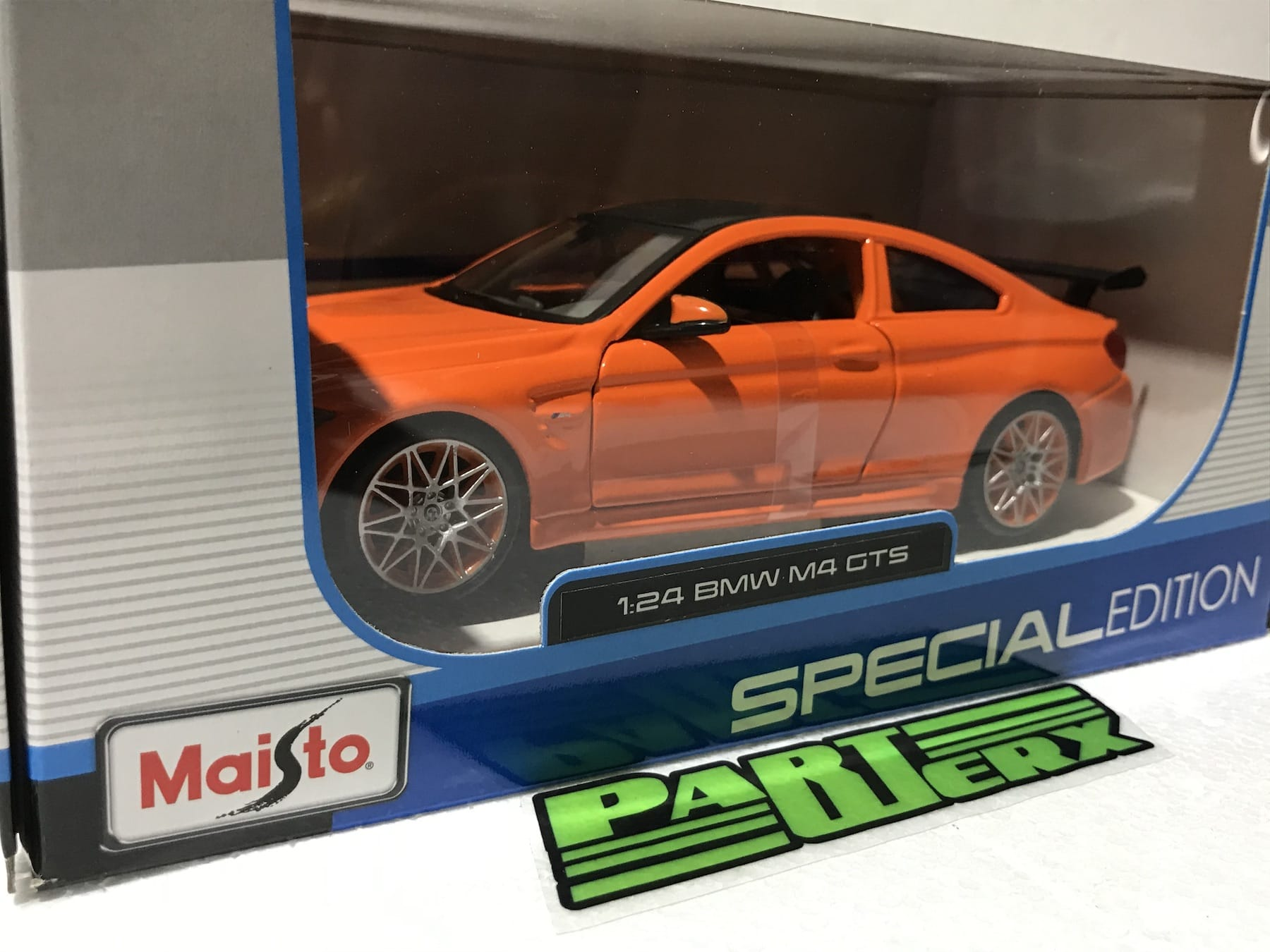 BMW M4 GTS 1:24 Scale Model Toy Childs Kids Enthusiasts Collectors Gift