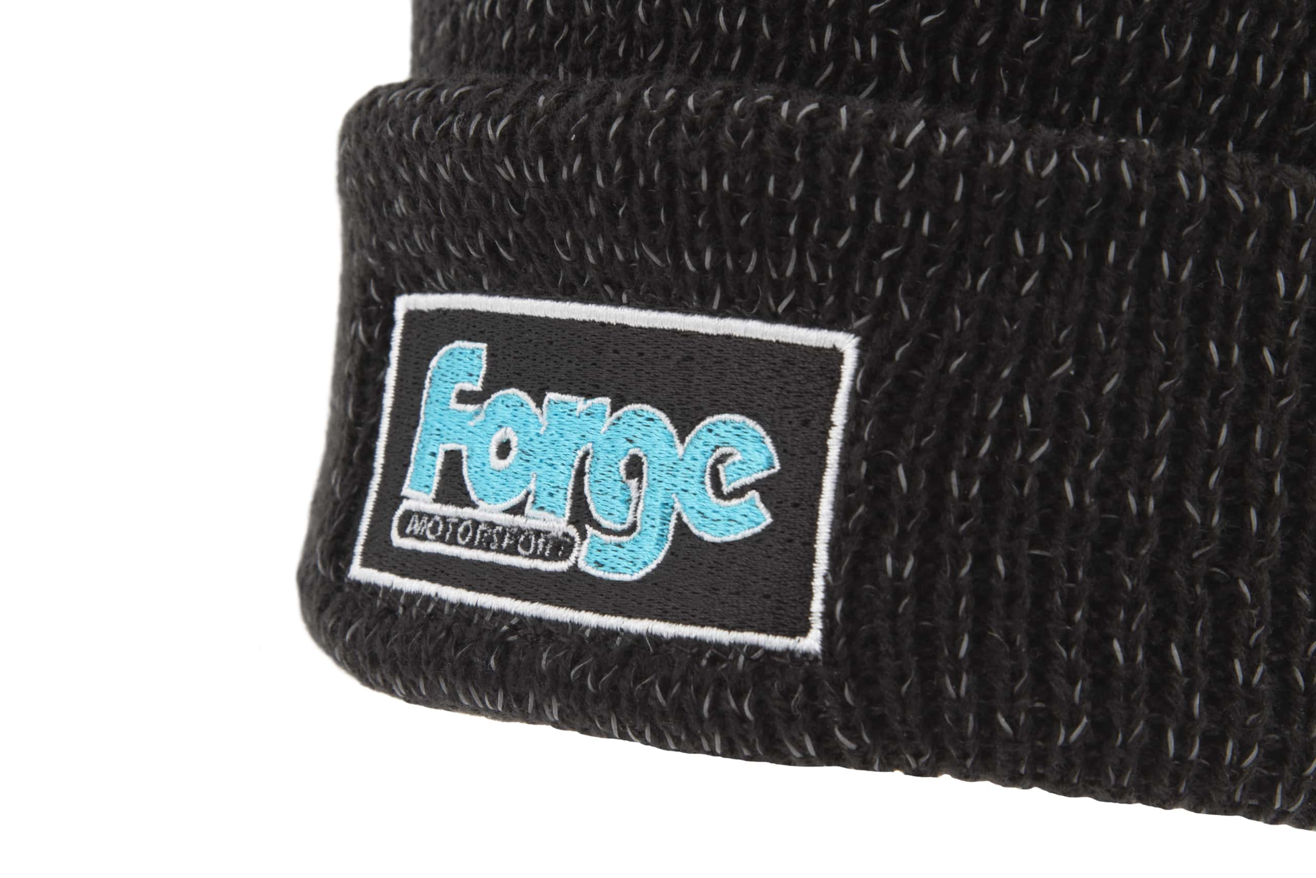Forge Motorsport Reflective Beanie Hat Woolie Fans Accessory Gift Xmas Birthday Present 2