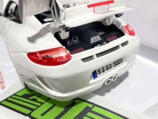 Porsche 997 GT3 RS 4.0 1:18 Scale Model Toy Car Childs Kids Dads Enthusiasts Collectors Gift