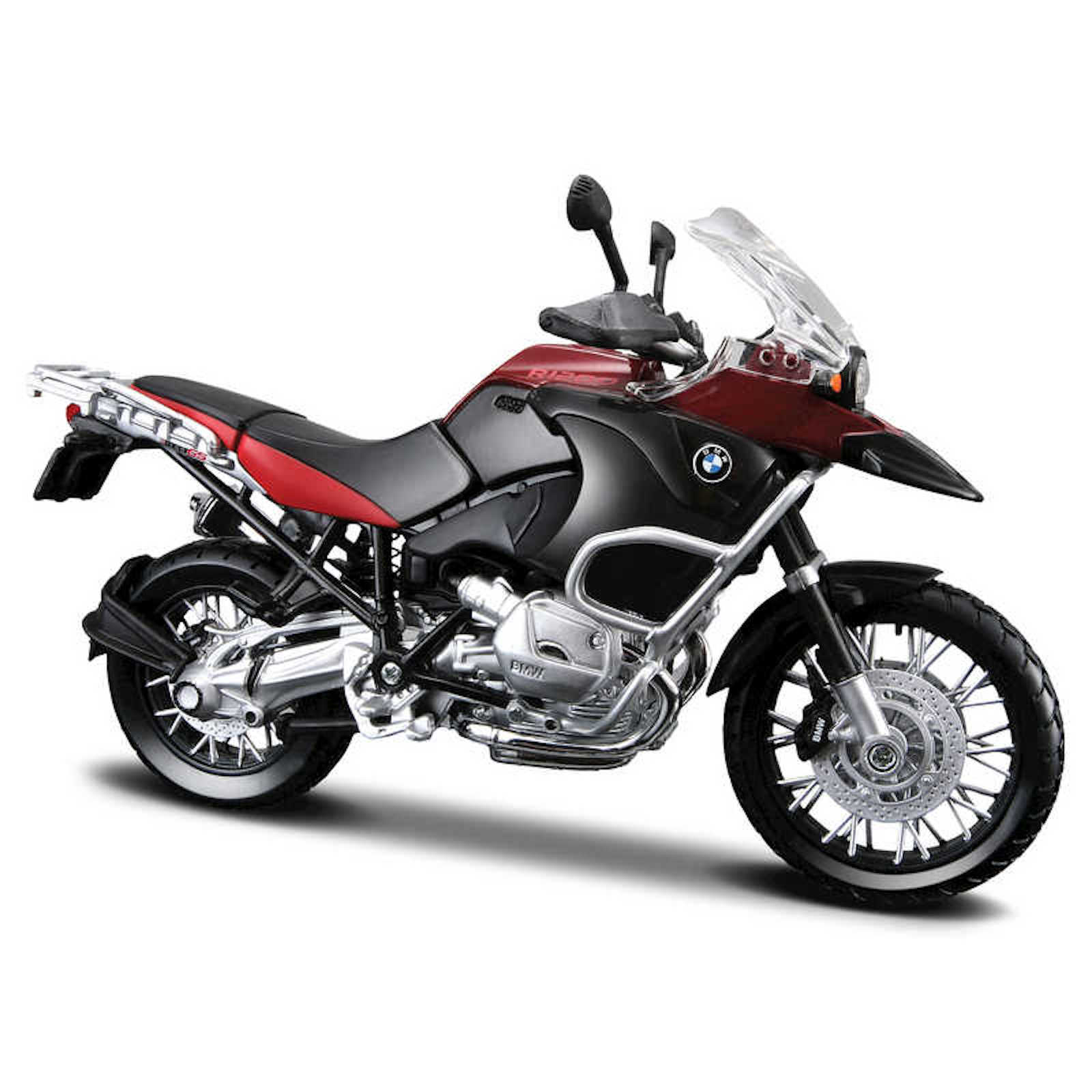 BMW R 1200 GS Assembly Line Kit 1:12 Scale Model Motorcycle Collectors Owners Present Gift