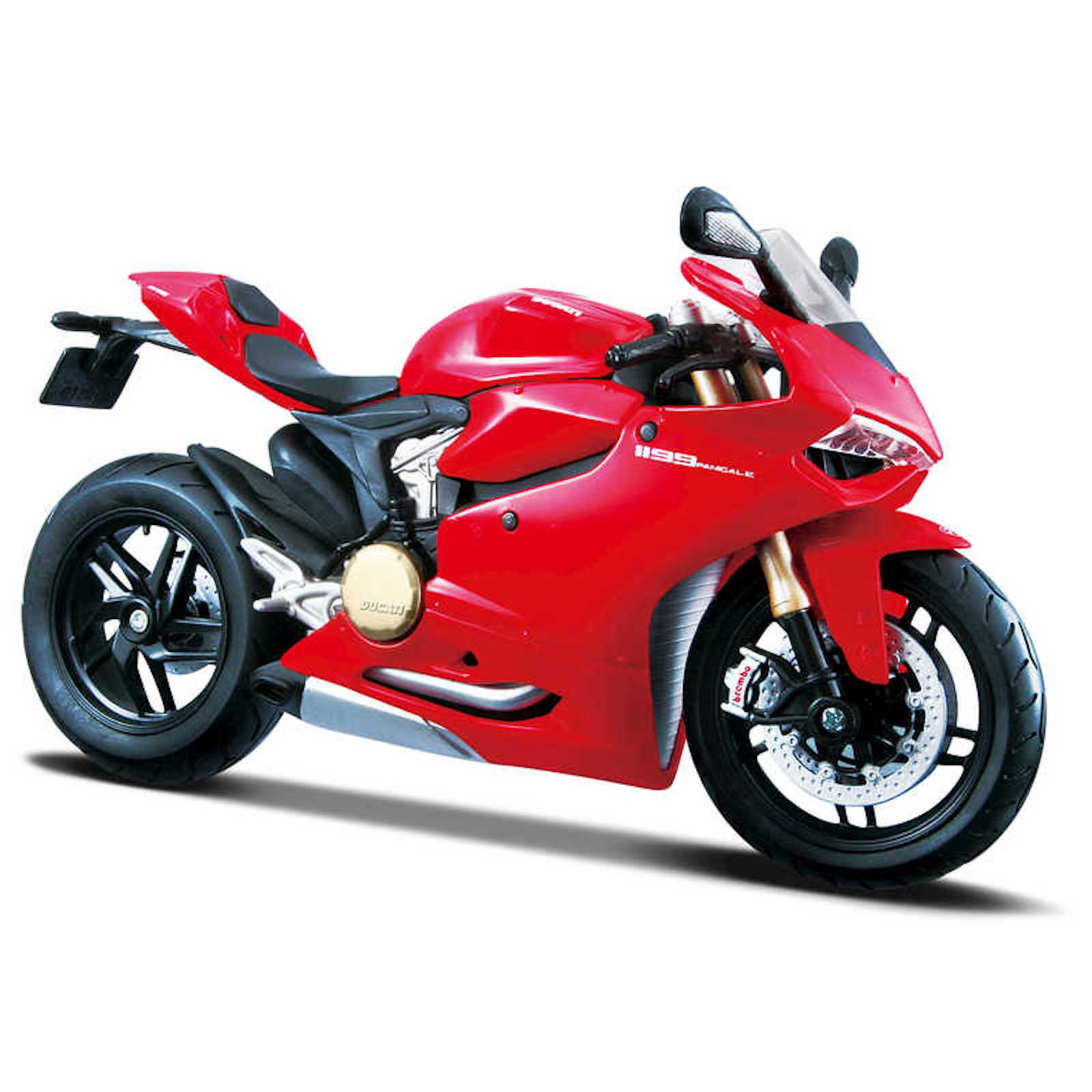 Ducati Panigale 1199 Assembly Line Kit 1:12 Scale Model Motorcycle Collectors Owners Present Gift