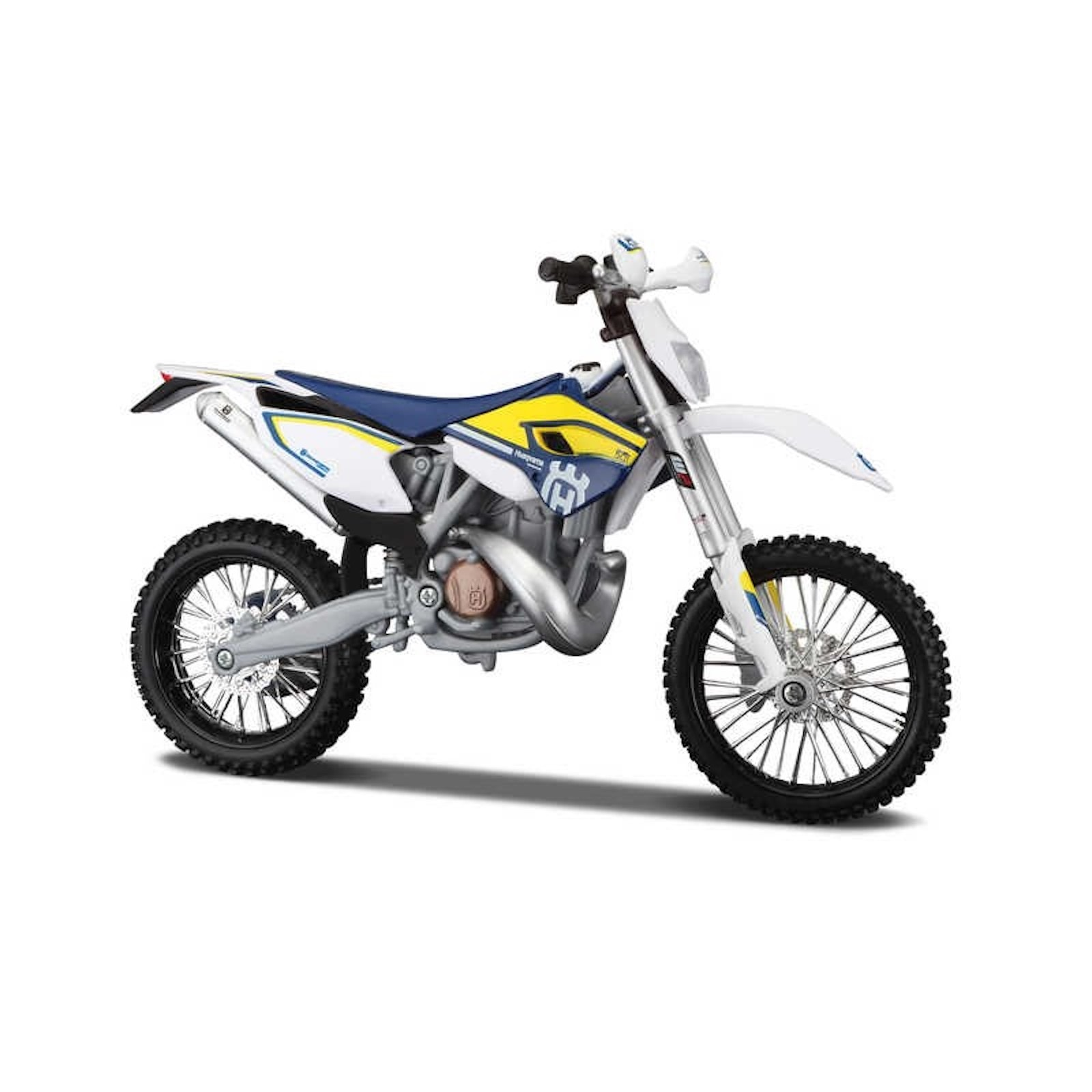Husqvarna FE 501 Assembly Kit 1:12 Build Motorbike Scale Model Motorcycle Toy Dads Fathers Kids Birthday Present Christmas Gift