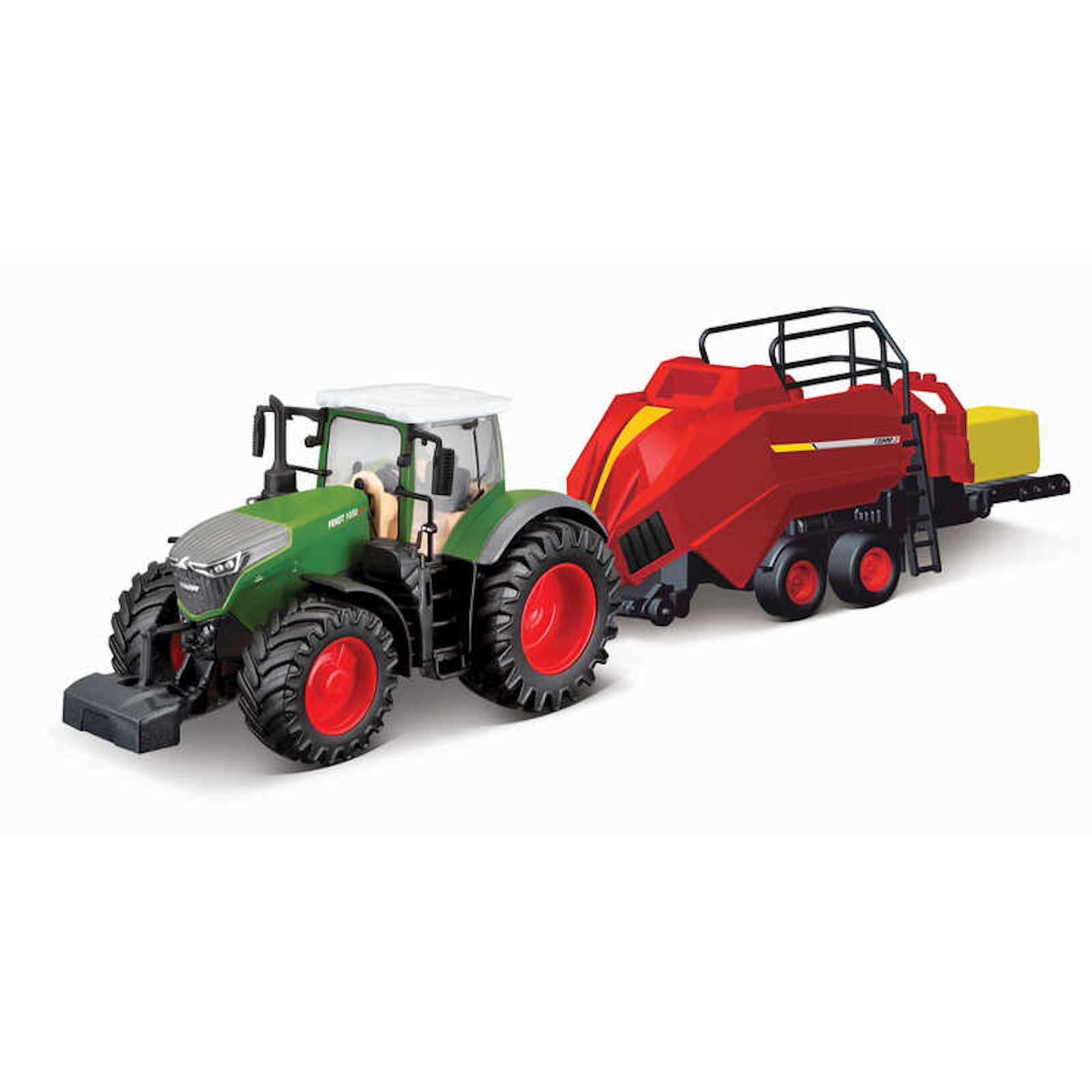 Fendt 1050 Vario Tractor With Baler Lifter Model Toy Childs Kids Dads Birthday Collectors Gift