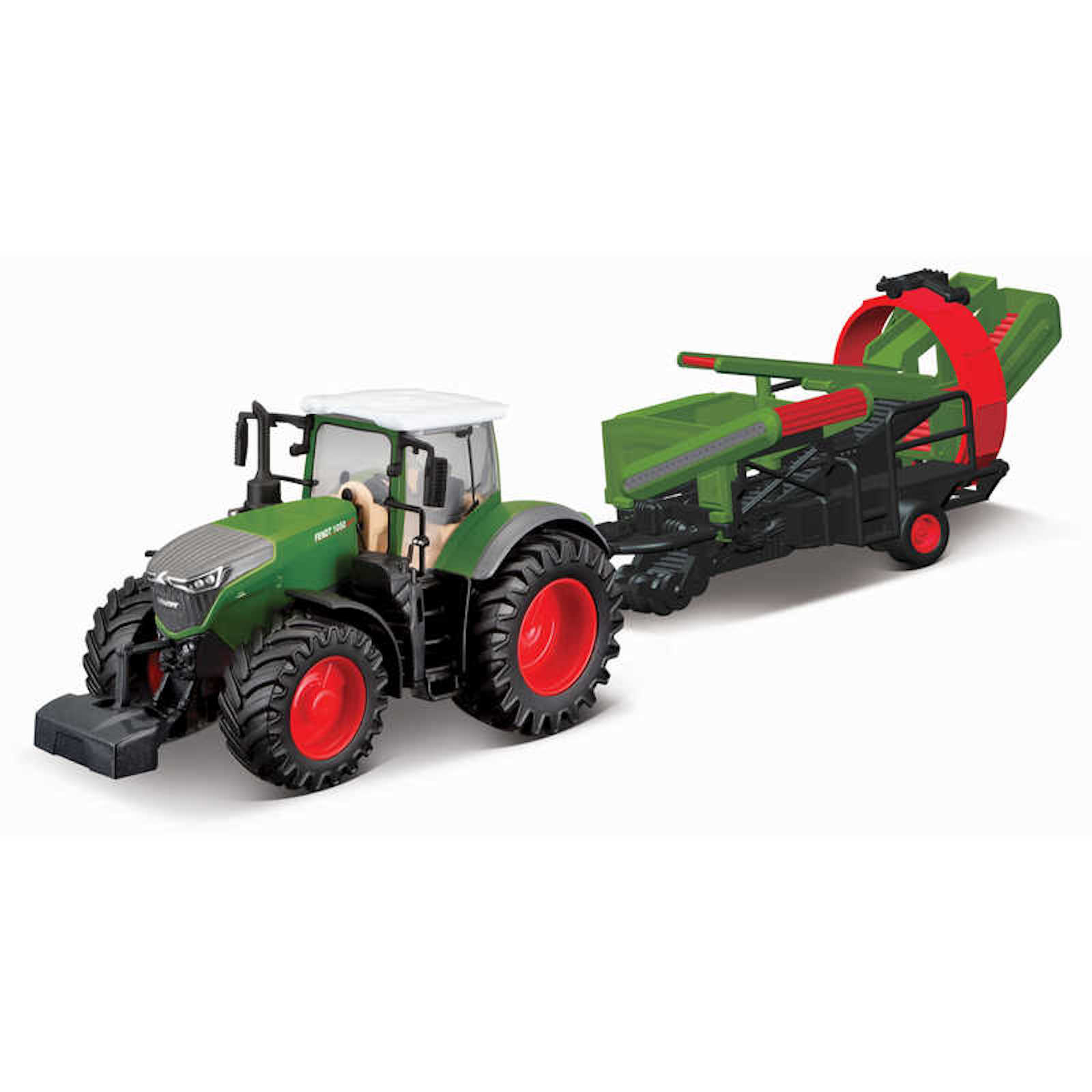 Fendt 1050 Vario Tractor With Cultivator Model Toy Childs Kids Dads Birthday Collectors Gift